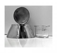 Liberty Co Archibald Knox for Liberty Co Pewter Inkwell C 1903  - 1061006