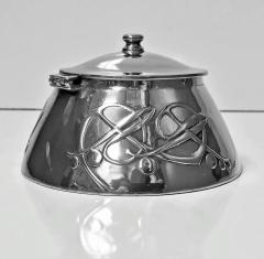 Liberty Co Archibald Knox for Liberty Co Pewter Inkwell C 1903  - 1061008