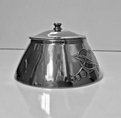 Liberty Co Archibald Knox for Liberty Co Pewter Inkwell C 1903  - 1061009