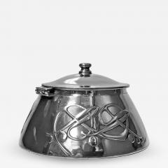 Liberty Co Archibald Knox for Liberty Co Pewter Inkwell C 1903  - 1061644