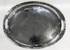 Liberty Co Large Liberty and Co Polished Pewter Tray circa 1900 - 1147740