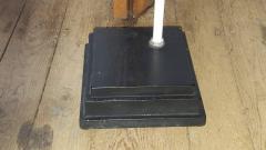 Lightolier Nakashima Style Walnut and Birch Floor Lamp by Lightolier 1960s - 2073338