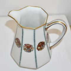 Limoges 1920s French Art Deco Limoges Porcelain Modern Octagonal Tea Coffee Set - 1217086