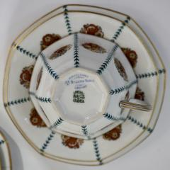 Limoges 1920s French Art Deco Limoges Porcelain Modern Octagonal Tea Coffee Set - 1217088