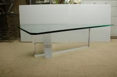 Lion in Frost Fabulous Lucite and Glass Coffee Table by Lion In Frost signed - 1198079