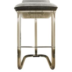 Lion in Frost Lion in Frost Set of 3 Swiveling Lucite Bar Stools 1970s - 440248