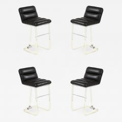 Lion in Frost Set of 4 Lion in Frost Lucite Stools - 1552795