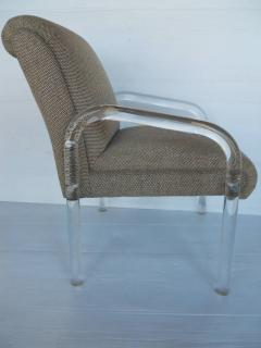 Lion in Frost Set of Four Lucite Dining Chairs by Lion in Frost - 442902