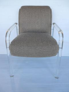 Lion in Frost Set of Four Lucite Dining Chairs by Lion in Frost - 442903