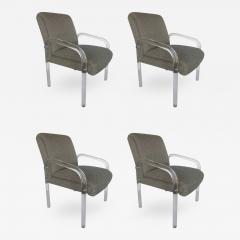 Lion in Frost Set of Four Lucite Dining Chairs by Lion in Frost - 446343