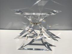 Lion in Frost Tripod Lucite Dining Table by Lion in Frost of Leon Frost - 438017