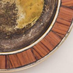 Los Castillo Los Castillo Decorative Plate Bronze Silver Plate Dish Mexico 1970s - 1412076
