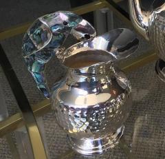 Los Castillo Tea Service Set in Silver and Abalone by Los Castillo - 340305