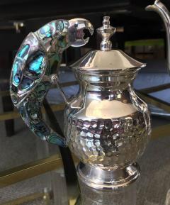 Los Castillo Tea Service Set in Silver and Abalone by Los Castillo - 340306