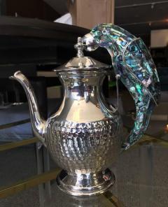 Los Castillo Tea Service Set in Silver and Abalone by Los Castillo - 340307