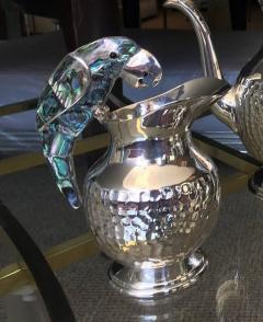 Los Castillo Tea Service Set in Silver and Abalone by Los Castillo - 340309