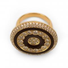 Luca Carati Luca Carati Diamond and Enamel Ring - 55014