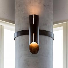 Lumifer by Javier Robles Aro Column Sconce - 1553074