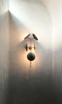 Lumifer by Javier Robles Quilla 5 Point Wall Sconce Floor Sample - 1858465