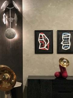 Lumifer by Javier Robles Quilla 5 Point Wall Sconce Floor Sample - 1858473