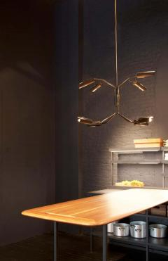 Lumifer by Javier Robles Switch 8 Arm Chandelier Floor Sample - 1859028