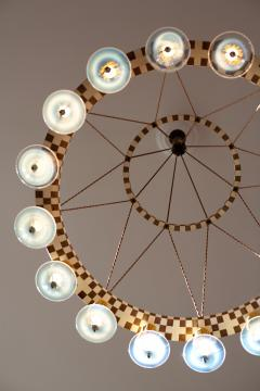 Lutyens Concentric Hoop Chandelier - 1478494