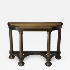 Lutyens D End Console Table - 1512215