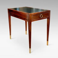 Lysberg Hansen Danish Deco Side Accent Table in Rosewood by Ernst Kuhn - 1460237