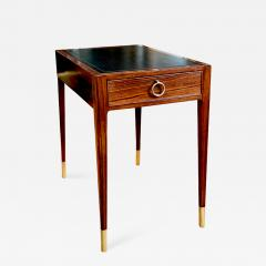 Lysberg Hansen Danish Deco Side Accent Table in Rosewood by Ernst Kuhn - 1462764