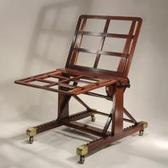 M Ford Creech Antiques GEORGE IV ADJUSTABLE MAHOGANY FOLIO STAND ATTRIBUTED TO GILLOWS - 744240