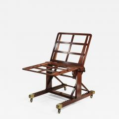 M Ford Creech Antiques GEORGE IV ADJUSTABLE MAHOGANY FOLIO STAND ATTRIBUTED TO GILLOWS - 745000
