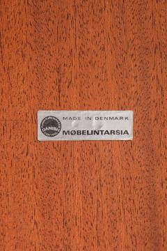 M belintarsia Club table Rosewood M belintarsia Denmark 50s - 2067450