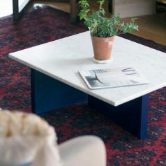 MAWLANA Furniture Home Fallada Bauhaus Stye Marble Coffee Table - 1394718
