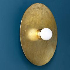 MAWLANA Furniture Home Mashar Gilded Flush Mount Light Fixture - 1394772