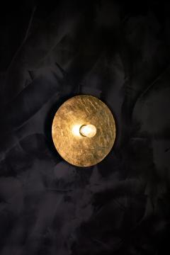 MAWLANA Furniture Home Mashar Gilded Flush Mount Light Fixture - 1394779