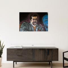 MAWLANA Furniture Home Milano Muggin Oil Painting - 1395297