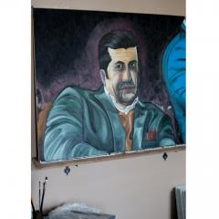 MAWLANA Furniture Home Milano Muggin Oil Painting - 1395298