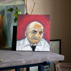 MAWLANA Furniture Home Negroni Master Oil Painting - 1395333