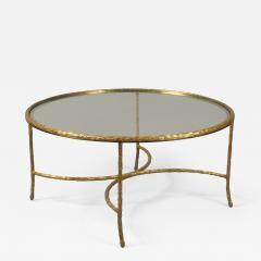 Maison Bagu s Bronze Coffee Table by Maison Agues France 1950s - 1084104