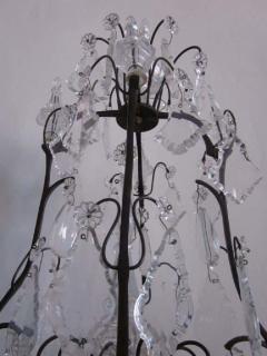 Maison Bagu s French Mid Century Modern Crystal Table Chandelier Girandole by Maison Bagu s - 1876858