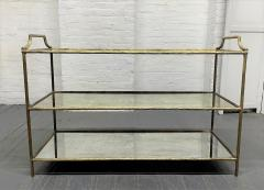 Maison Bagu s French Three Tier Bar Cart style of Maison Bagues - 1989957