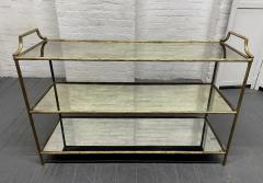 Maison Bagu s French Three Tier Bar Cart style of Maison Bagues - 1989959