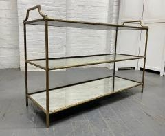 Maison Bagu s French Three Tier Bar Cart style of Maison Bagues - 1989960