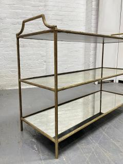Maison Bagu s French Three Tier Bar Cart style of Maison Bagues - 1989961