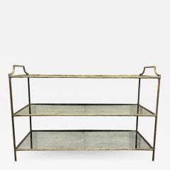 Maison Bagu s French Three Tier Bar Cart style of Maison Bagues - 1994385