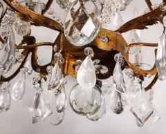 Maison Bagu s Large Scale Rock Crystal Chandelier by Maison Bagues - 1798697
