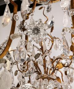 Maison Bagu s Large Scale Rock Crystal Chandelier by Maison Bagues - 1798698