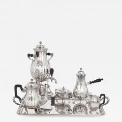 Maison Cardeilhac Antique Silver Rococo Style Six Piece Tea and Coffee Set by Maison Cardeilhac - 1914538