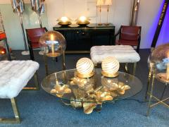 Maison Honor Paris Lightning Coffee Low Table Brass by Maison Honore Paris France 1980s - 523585