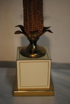Maison Le Dauphin Maison Le Dauphin Les Maizieres Corncob lamp - 1195108